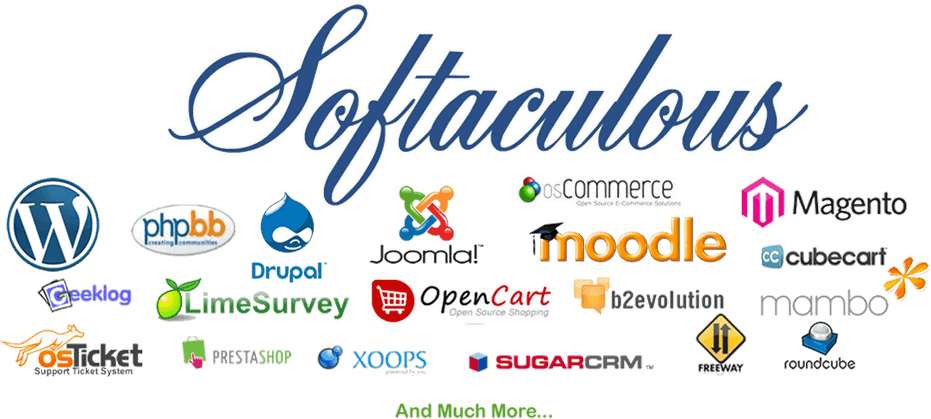 Softaculous auto installer web hosting feature